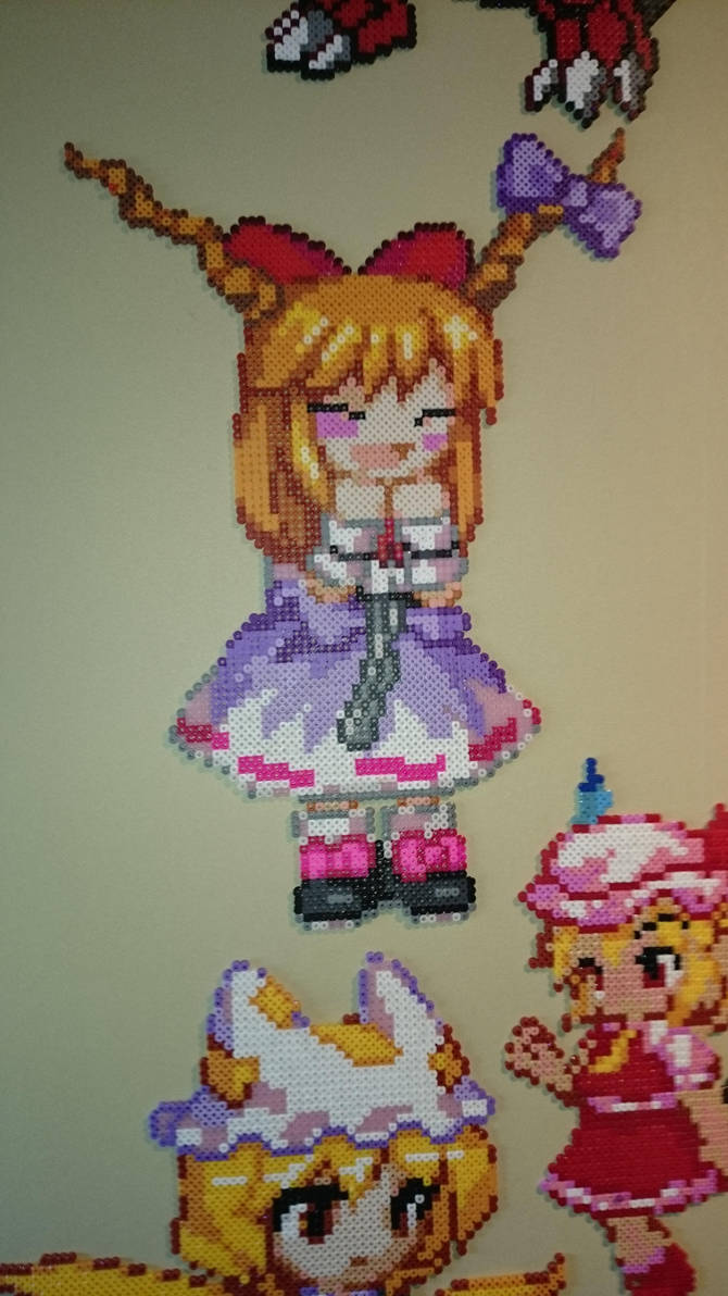 Touhou Character 16 - Suika Ibuki by MagicPearls