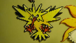 Pokemon #11 - Zapdos by MagicPearls