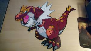 Pokemon #13 - Tyrantrum by MagicPearls