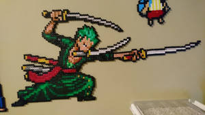 One Piece Character #2. Roronoa Zoro by MagicPearls