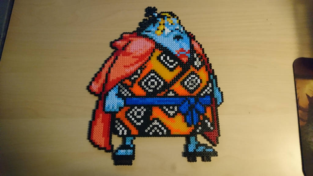 One Piece Character #39. Jinbei by MagicPearls