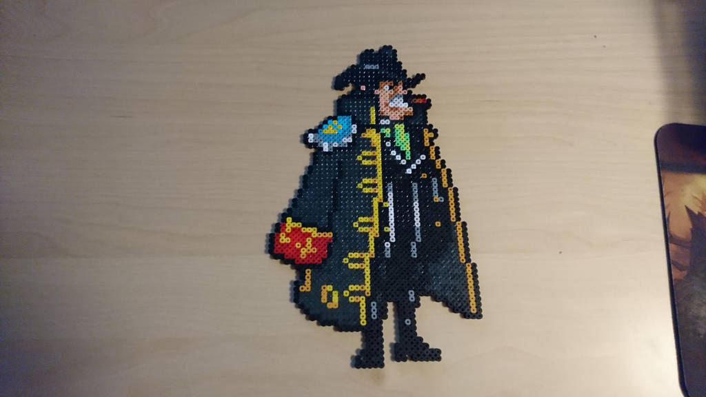 One Piece Character #47. Capone Bege by MagicPearls