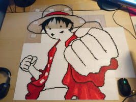 Luffy 2 - Small progress (WIP) by MagicPearls