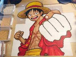 Luffy 4 - Final stretch... by MagicPearls
