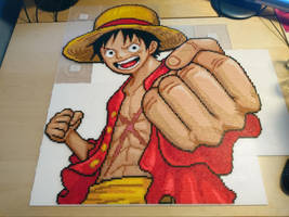 Luffy 5 - Just before ironing! (WIP) by MagicPearls