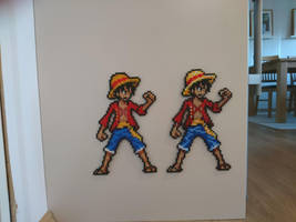 One Piece Character #1. Monkey D. Luffy (redone) by MagicPearls