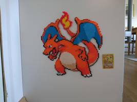 Pokemon #2 - Charizard (redone) by MagicPearls