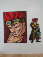 One Piece Character #81. Eustass Kid by MagicPearls
