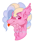 FLuffy baby by BlueMoonDiancie