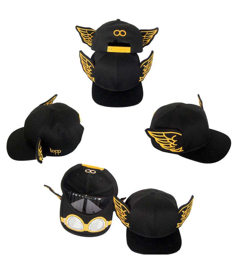 HERMES winged snapback cap by Bladeburner02 on DeviantArt af7b7121525