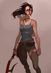 Lara Croft by gewska