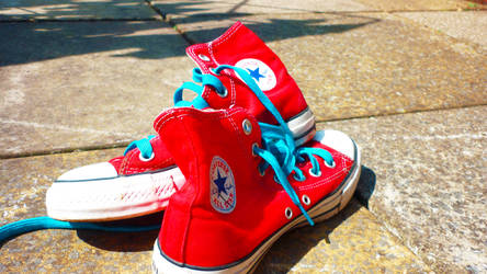 Converse All Stars by ghost-lights