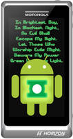 Green Lantern Android Phone by inkedicon