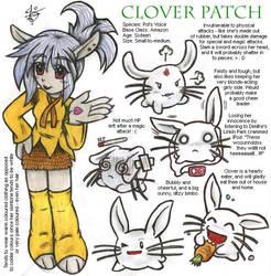Roleplay Character - Clover by daaku-no-tenshi