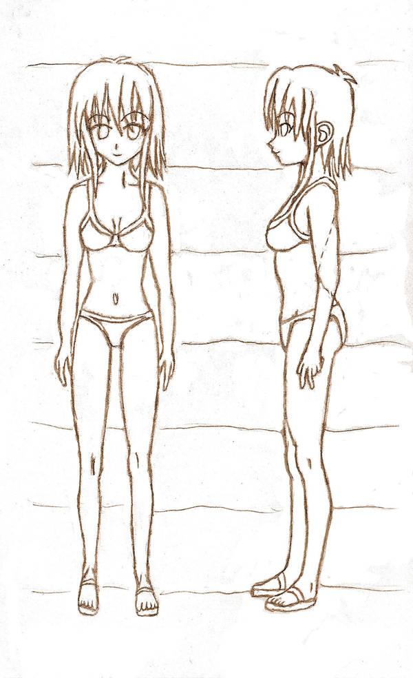 Manga Female Anatomy By Anidrewit On Deviantart