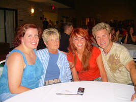 Vic Mignogna and Family by BlackRose1377