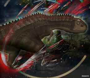 Carnotaurus by DinosaurArtx