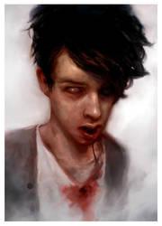 Self portrait by CottonCandyTrip