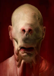 Pale Man by CottonCandyTrip