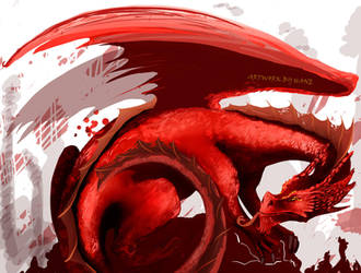 Red Dragon by HaneMS