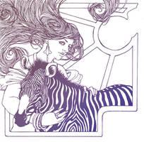 Zebra by grimkim