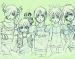 The OCs parade by O-Kei