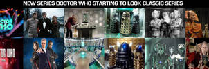 New Doctor Who looking like the classic series by DoctorWhoOne