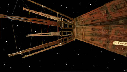 Red Dwarf - The slow voyage home by DoctorWhoOne