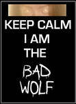 Doctor Who - Keep Calm Bad Wolf Poster by DoctorWhoOne