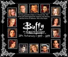 Buffy the Vampire Slayer - 20th Anniversary by DoctorWhoOne
