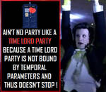 Doctor Who - Time Lord Party by DoctorWhoOne