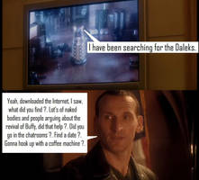 Doctor Who - Dalek  [2005] - Omitted Buffy moment by DoctorWhoOne