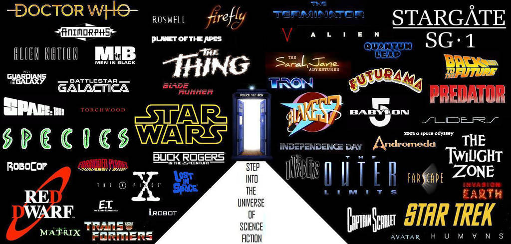 Step into the Universe of Science Fiction by DoctorWhoOne