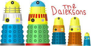 The Daleksons [The Simpsons] by DoctorWhoOne