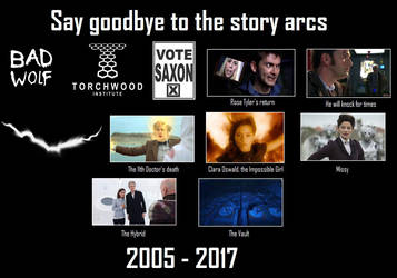Say goodbye to the story arcs [Doctor Who] by DoctorWhoOne