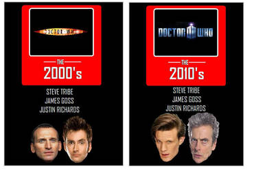 Doctor Who - the 2000's and the 2010's by DoctorWhoOne