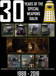 Special Weapons Dalek - 30 Years by DoctorWhoOne