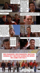 Forever Red - Secret thoughts of Red Rangers by DoctorWhoOne