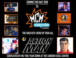 Cosplaying Action Man [MCM London Expo/Comic-Con] by DoctorWhoOne