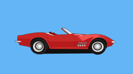 Car Image Vector Graphic by crazeeadil