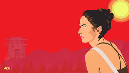 Girl at Scene Wallpaper by crazeeadil