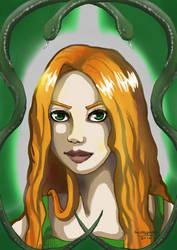 Liv - Slytherin by Grungguuse