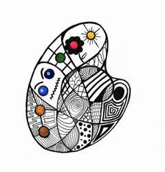 doodle palettes by yogurtkyr