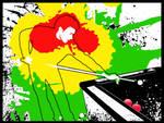 Billiard and paint by Zetiem