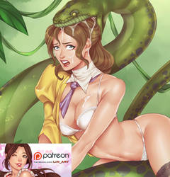 Patreon Preview: Jane of the Jungle by SnakePerils