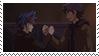 Yusaku And Kusanagi Stamp by YugiNep