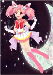 Super Sailor Chibi Moon by YugiNep