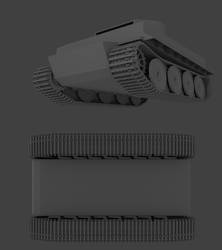 Tiger I Early - WIP - chassis by marinkognito2