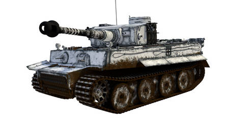 Tiger I - early - WIP by marinkognito2