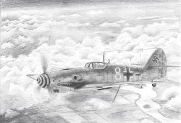 Bf-109 by marinkognito2